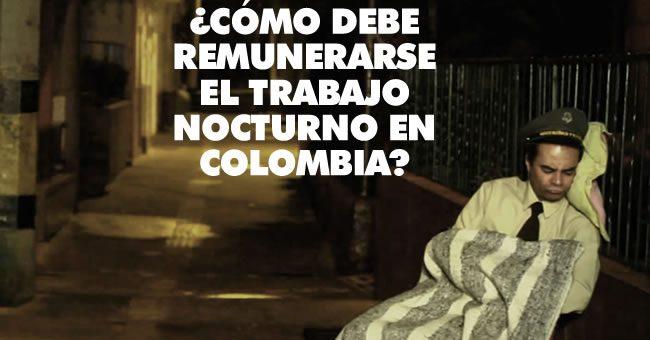 ¿Cómo debe remunerarse el trabajo nocturno en Colombia? Conozcan sus derechos