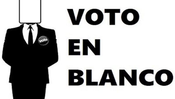¿Qué sucede con el Voto en Blanco ensegunda vuelta de elecciones presidenciales?