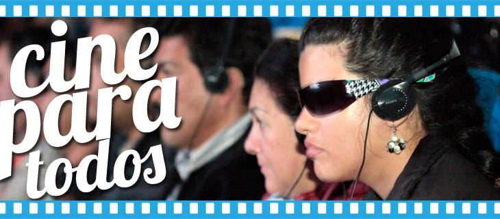 ¿Cuándo hay cine gratuito para personas con discapacidad visual, auditiva y cognitiva?
