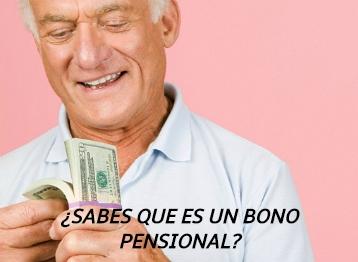 ¿Qué es un bono pensional?