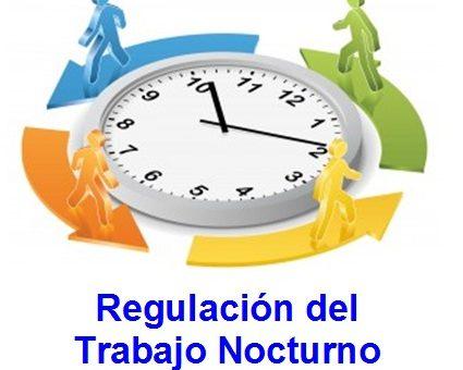 ¿A partir de que horas inicia la jornada nocturna de los trabajadores?