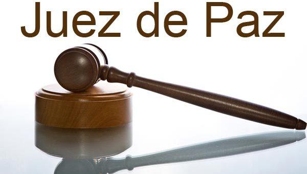 ¿Qué tipos de casos conocen los jueces de paz?
