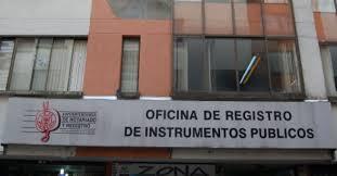 ¿Es obligatorio registrar en Instrumentos publicos la compra de un inmueble?