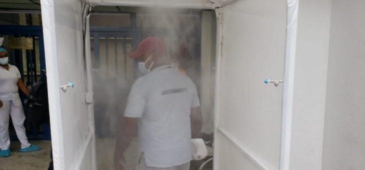 ¿Son recomendables las cabinas de desinfección para prevenir el Covid-19?